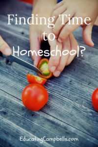 Finding Time to Homeschool? - Pinterest Image