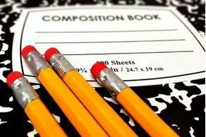 homeschooling supplies I cant live without are pencils and composition books, image