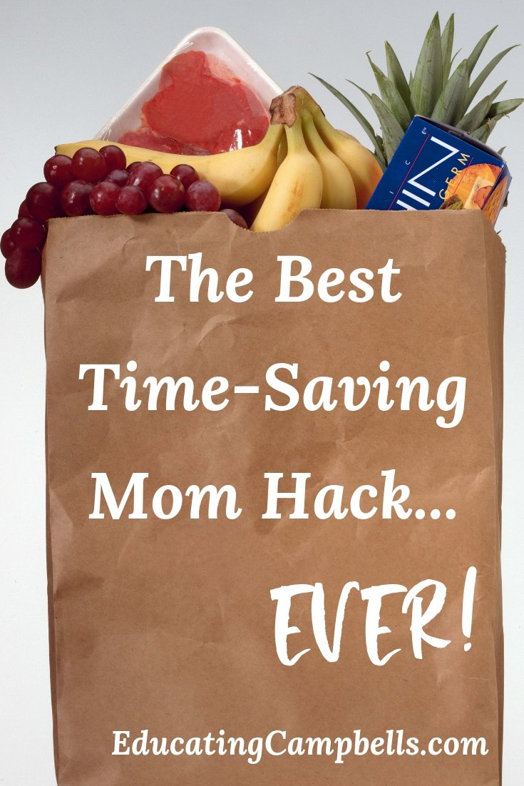The Best Time-Saving Mom Hack...Ever, grocery bag