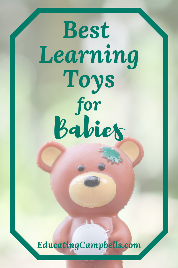 Pinterest Image for Best Learning Toys for Babies