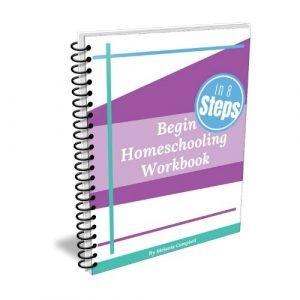 Begin Homeschooling in 8 Steps Workbook pic