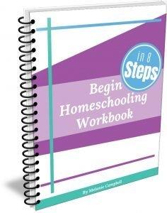 image for Begin Homeschooling in 8 Steps Workbook