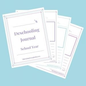 Deschooling Journal - Upper Elementary