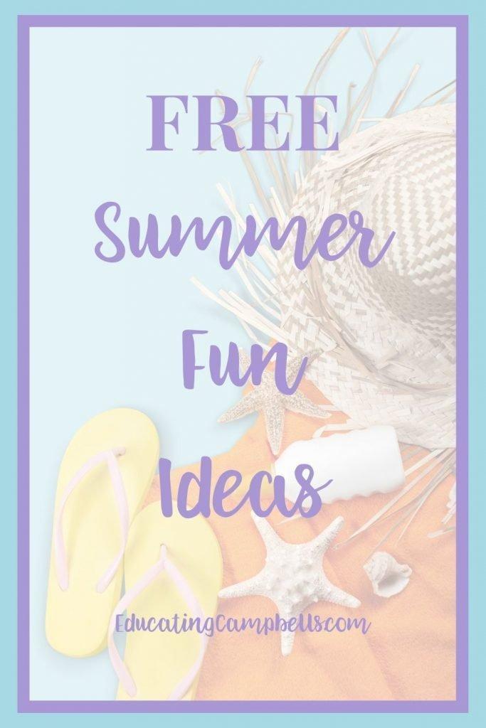 Summer Fun Ideas