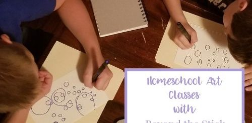 homeschool art classes featured image
