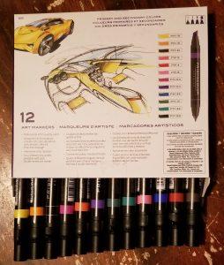 Prismacolor Markers for homeschool art classes