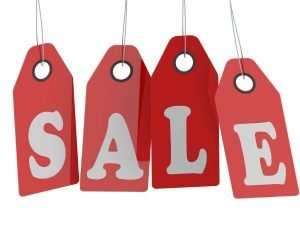 Black Friday, Cyber Monday graphic, sale tags