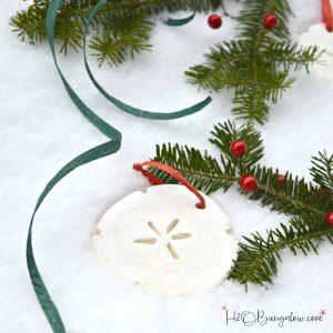 DIY cornstarch ornaments