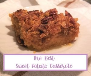 the best sweet potato casserole with canned yams