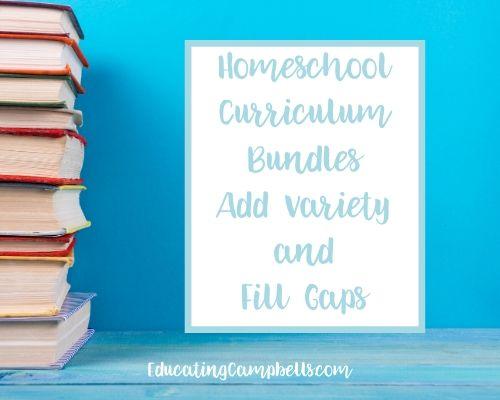 HOmeschool curriculum bundles, featured image